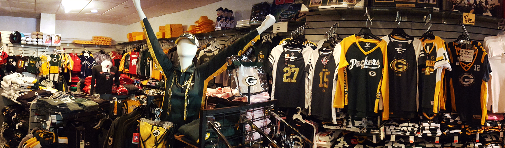 Packer Gear and Cheese Store