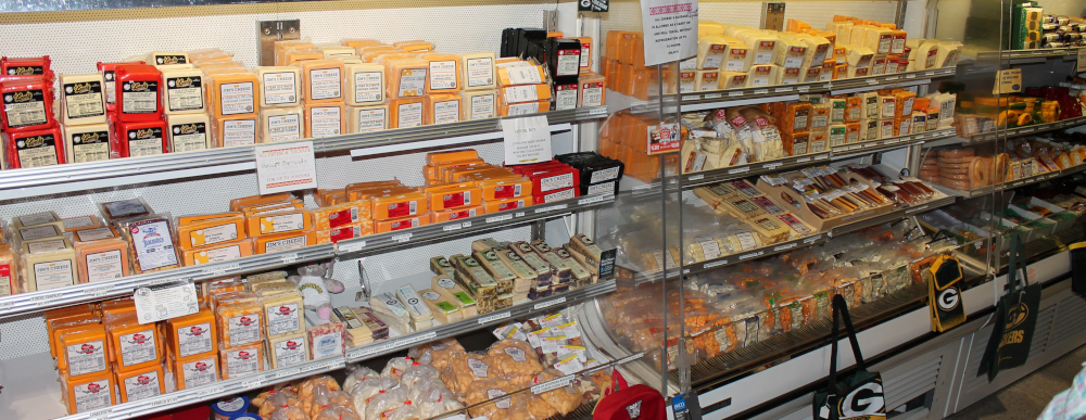 Wisconsin Cheese at Packer Gear and Cheese